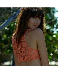Beauty & The Beach - Red Dreamweaver Top - Lyst