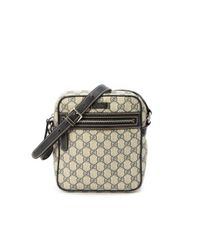 Gucci - Gray Pre-owned: Gg Shoulder Bag - Lyst