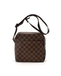 Louis Vuitton - Green Pre-owned: Olav Pm - Lyst
