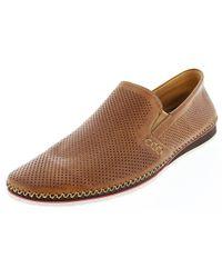 Zanzara | Brown Merz Leather Slip-on for Men | Lyst