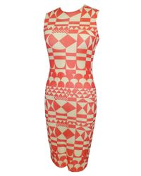 Petit Pois   Red The Tide Tube Dress   Lyst