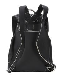 Balenciaga - Black Leather 'classic Traveller S' Backpack - Lyst