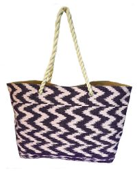 Ix Style - Purple Reversible Tote - Lyst