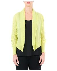 Quinn | Yellow Valentina Shrug | Lyst