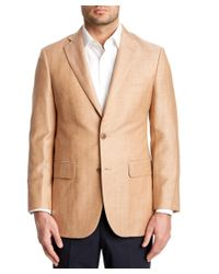 Brooks Brothers | Natural Rust Herringbone Madison Classic Fit Sport Coat for Men | Lyst