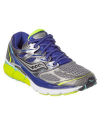 Saucony - Blue Women's Hurricane Iso Running Shoe - Lyst