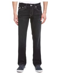 True Religion | Black Redfield Park Straight Leg for Men | Lyst