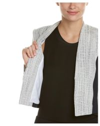 T Tahari - Gray Jacket - Lyst