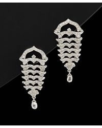 Sethi Couture | Black 18k 1.65 Ct. Tw. Diamond Drop Earrings | Lyst