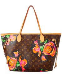 Louis Vuitton - Multicolor Limited Edition Stephen Sprouse Roses Monogram Canvas Neverfull Mm - Lyst