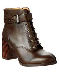 Bettye Muller | Brown Ozone Leather Bootie | Lyst