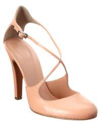 Jill Stuart | Pink Camilla Leather Pump | Lyst