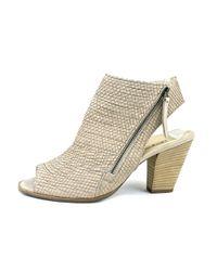 Paul Green - Natural Alexandra Women Open Toe Leather Nude Sandals - Lyst