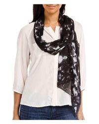 Emanuel Ungaro - Gray Un7018 S7789 Tie Dye Print Smoke Silk Scarf - Lyst