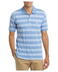 Brooks Brothers | Blue Oxford Text Regent Fit Polo Shirt for Men | Lyst