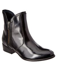 Seychelles | Black Lucky Penny Leather Bootie | Lyst