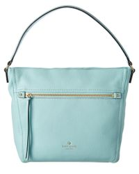 kate spade new york - Blue Cobble Hill Teagan Leather Hobo - Lyst