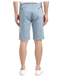 7 For All Mankind - Blue Seven7 Twill Short for Men - Lyst