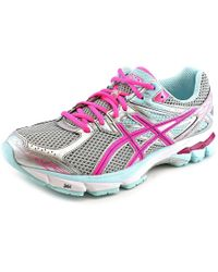 Asics   Gray Gt-1000 3 D Round Toe Synthetic Running Shoe   Lyst