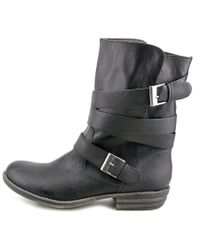 American Rag | Cale Women Round Toe Synthetic Black Mid Calf Boot | Lyst