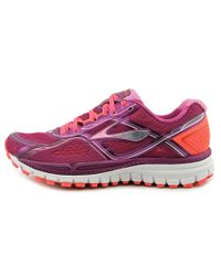 Brooks - Ghost 8 Women Round Toe Synthetic Pink Sneakers - Lyst