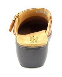 Vionic - Multicolor Elation Bayside Round Toe Leather Mules - Lyst