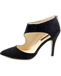 INC International Concepts - Black Zizi Women Pointed Toe Suede Heels - Lyst