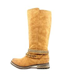 Not Rated - Multicolor Fall Guide Women Round Toe Synthetic Tan Knee High Boot - Lyst