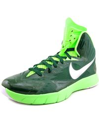 Nike | Green Lunar Hyperquickness Tb Round Toe Synthetic Sneakers for Men | Lyst