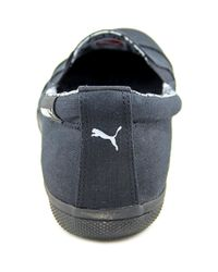 PUMA | Black Pc Extreme Vulc Cap Toe Canvas Loafer | Lyst