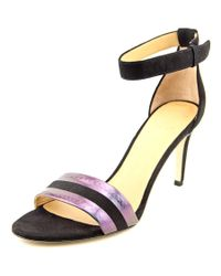 Marc By Marc Jacobs | Black Ankle Strap Dress Sandal Synthetic Sandals | Lyst