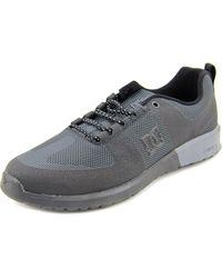 DC Shoes | Lynx Lite R Men Round Toe Canvas Black Skate Shoe for Men | Lyst