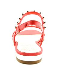 Vince Camuto - Pink Hopper Open-toe Leather Slingback Sandal - Lyst