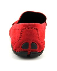 Kenneth Cole Reaction - Red World Hold On Suede Drivers for Men - Lyst