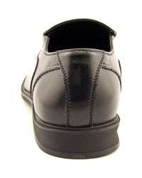 Kenneth Cole Reaction - Black Zoom Zoom Round Toe Synthetic Loafer for Men - Lyst