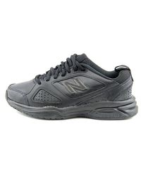 New Balance - Black Wx623ab3 D Round Toe Leather Sneakers for Men - Lyst