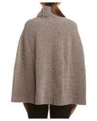 ESCADA - Brown Wool-blend Cape - Lyst