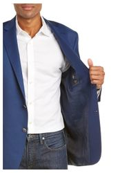Hart Schaffner Marx | Blue Wool Sport Coat for Men | Lyst