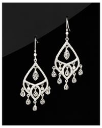 Lois Hill - Metallic Classic Silver Earrings - Lyst