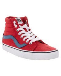 Vans | Red Unisex Sk8-hi Reissue Sneaker | Lyst