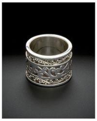 Lois Hill - Metallic Classics Silver Ring - Lyst