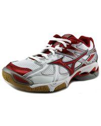 Mizuno | Multicolor Wave Bolt 4 Women Round Toe Synthetic Multi Color Sneakers | Lyst
