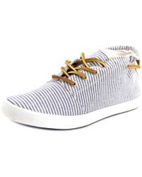 Roxy | Encinitas Women Round Toe Canvas Blue Sneakers | Lyst