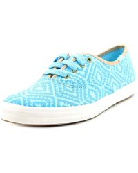 Keds - Ch Trival Sky Blues Women Round Toe Canvas Sneakers - Lyst