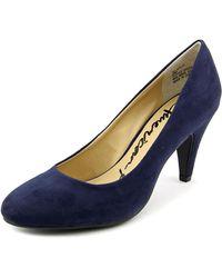 American Rag | Felix 1 Women Round Toe Canvas Blue Heels | Lyst