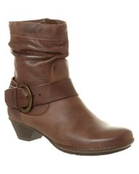 Pikolinos | Brown Brujas Leather Ankle Boot | Lyst