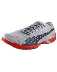 PUMA - Gray Future Cat Super Lt Round Toe Canvas Running Shoe for Men - Lyst