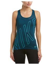 Nike - Green Women's Pro Hypercool Explode Logo Tank - Lyst
