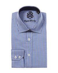 English Laundry - Blue Dress Shirt for Men - Lyst