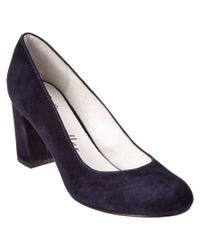 Bettye By Bettye Muller | Blue Colette Suede Pump | Lyst